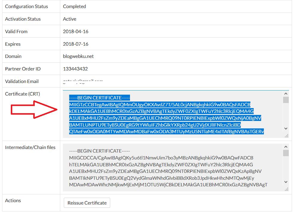 Cara Install SSL di cPanel 15