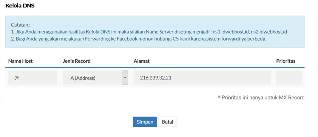Cara Setting Domain Custom Ke Blogspot 10