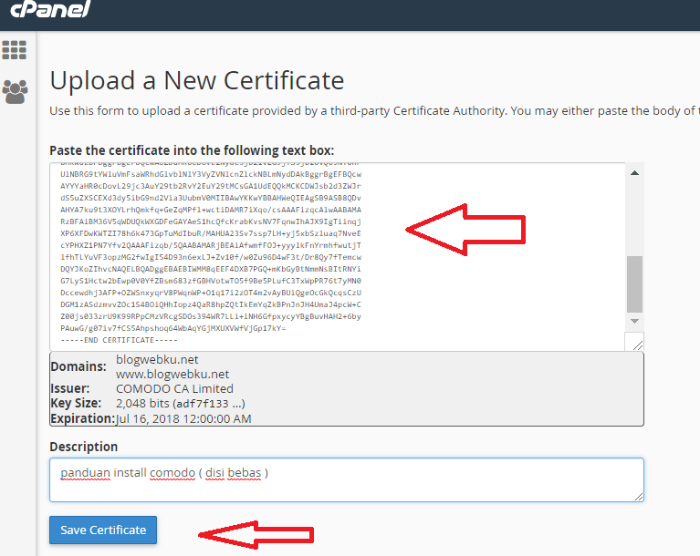 Cara Install SSL di cPanel 17